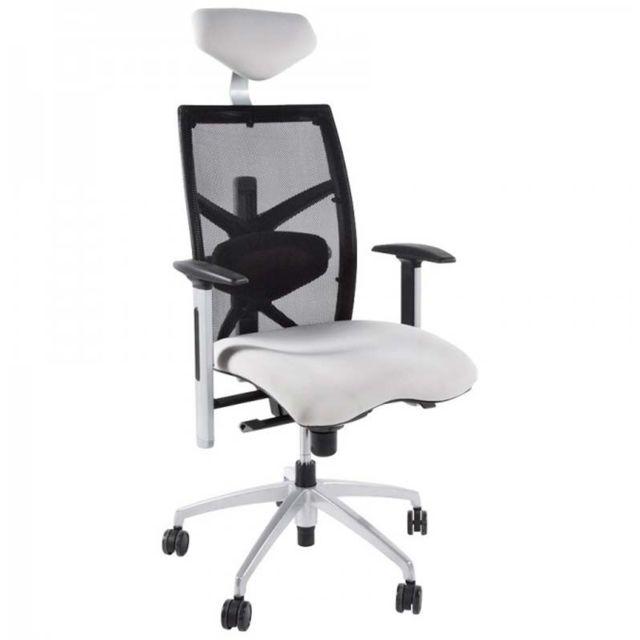 paris prix fauteuil de bureau techno tissu gris pas cher achat vente si ges et fauteuils. Black Bedroom Furniture Sets. Home Design Ideas