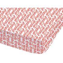 Coca Cola - Drap housse imprimé 100% coton