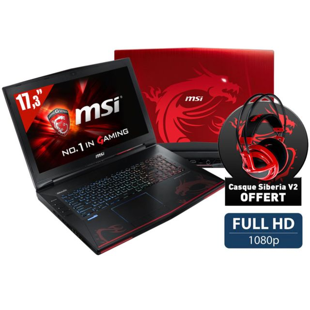 MSI - GT72 2QE-663FR Dominator Pro Dragon Edition