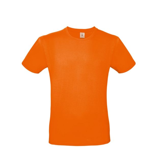 tee shirt homme orange pas cher