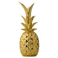 Bloomingville - Ananas en Céramique 24 cm - Or