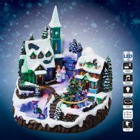 Féérie Lights & Christmas - Village de Noël - Lumineux, musical et animé - Eglise