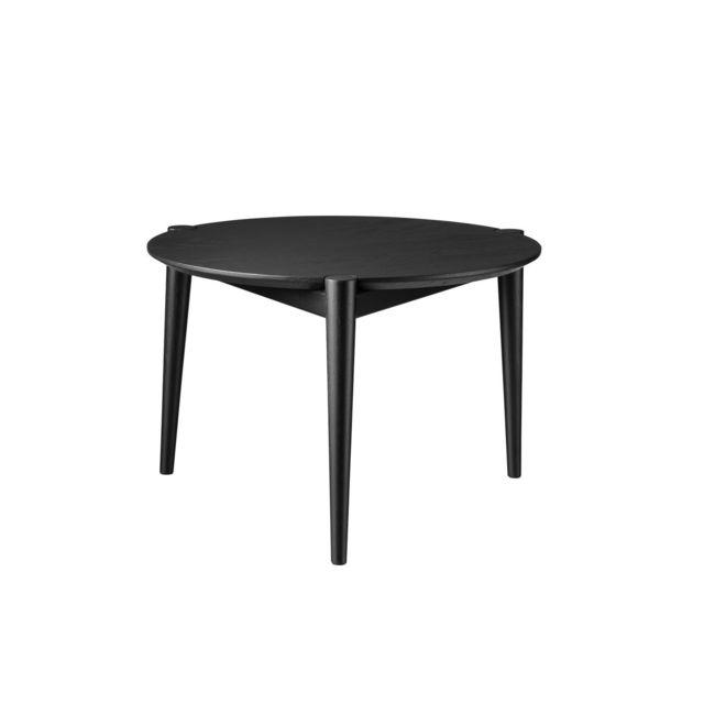 Marque Generique Table basse D102 Søs - Ø55 cm - noir