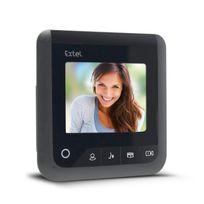"""Extel - Moniteur 4"""" Visio+ 2 fils supplémentaires pour les visiophones Levo Access. Nova. Ice"""