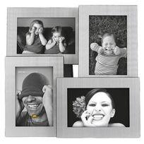 Present Time - Cadre photo multivues en aluminium Multi