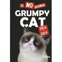 404 Editions - le no agenda grumpy cat édition 2018/2019
