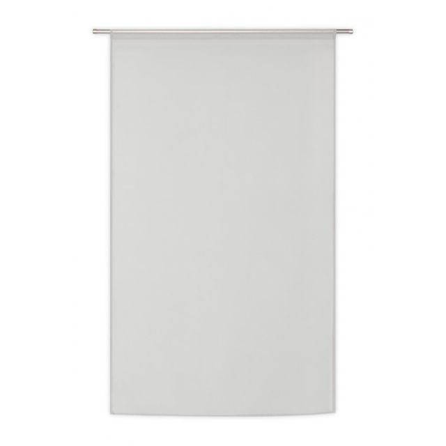 rideaudiscount voilage vitrage 90 cm x 160 cm effet lin passe tringle style nature chic uni. Black Bedroom Furniture Sets. Home Design Ideas