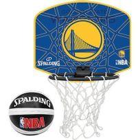 Spalding - Nba Miniboard Golden State Warriors Bleu Panier Intérieur Basketball