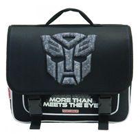 Transformers - Cartable 38 Cm Optimus Noir Haut de gamme