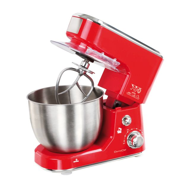 DOMOCLIP Robot pâtissier rouge DOP150R