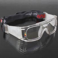 fdef99ba59 Pour Basketball / Soccer Game gris Wrap Goggles Lunettes de sport Lunettes  Ach-318518
