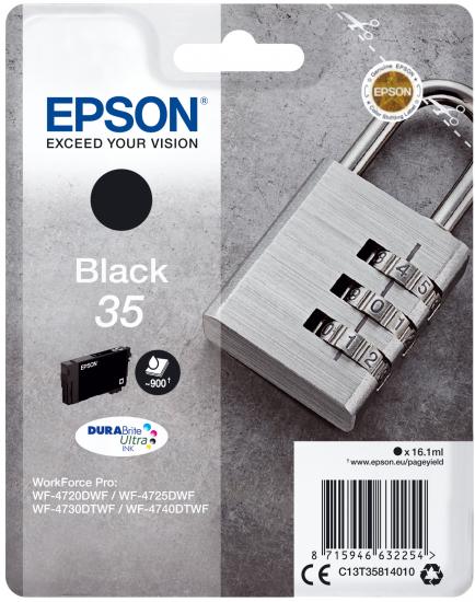 EPSON Cartouche Cadenas Noir 35