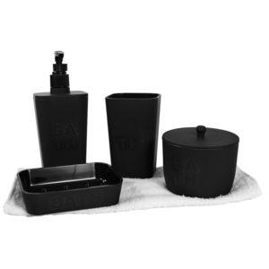 CMP-PARIS - Coffret 5 accessoires salle de bain Bath - pas cher ...