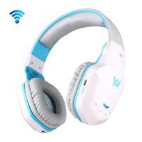 Wewoo - Pour iPhone, Galaxy, Sony, Htc, blanc et bleu Huawei, Xiaomi, Lenovo autres smartphones + sans fil Bluetooth 4.1 Stéréo Gaming Headset Support Nfc avec micro