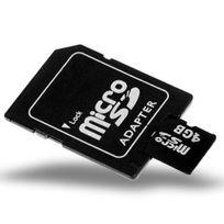 Shopinnov - Carte microSD 4 Go + adaptateur Sd