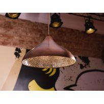 Beliani - Lampe de plafond - suspension - luminaire cuivre - Iskar