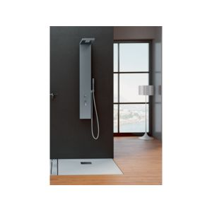 kinedo colonne de douche inox aquastyle 153 x 20 cm pas cher achat vente colonne de. Black Bedroom Furniture Sets. Home Design Ideas