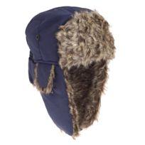 d348fc1a5dc92 Generic - Floso - Bonnet de trappeur - Homme T1: 58cm, Bleu marine Utha248