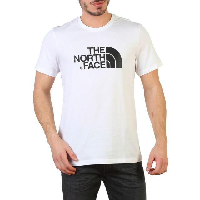 acheter populaire 10113 4fbdc The north face - T-shirt homme Easy - Blanc - pas cher Achat ...