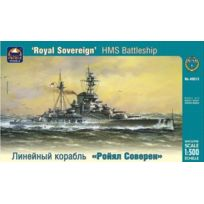 "Ark Models - Maquette Hms Battleship ""ROYAL Sovereign"" Russian Nuclear Powered Icebreaker"