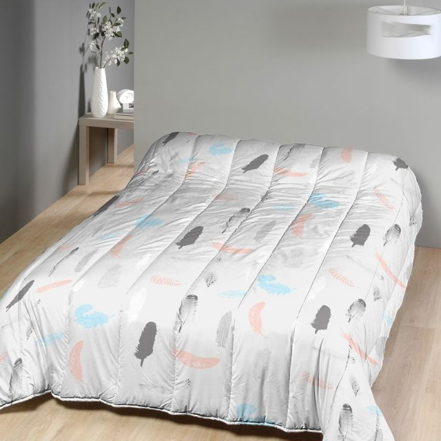 marque generique couette imprim e 220x240 cm plumes pastel pas cher achat vente couettes. Black Bedroom Furniture Sets. Home Design Ideas