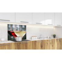 plaque cuisson gaz verre blanc achat plaque cuisson gaz verre blanc pas cher rue du commerce. Black Bedroom Furniture Sets. Home Design Ideas