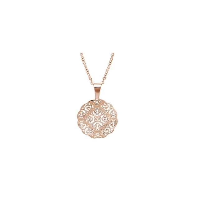 collier rond femme
