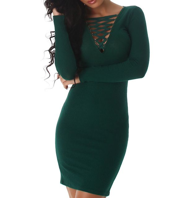 8a7eceaace67 Cendriyon - Robe Pull Color Vert Koiline - pas cher Achat   Vente ...