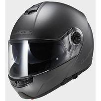 casque intégral modulable Ff325.10 Strobe titane mat moto scooter M