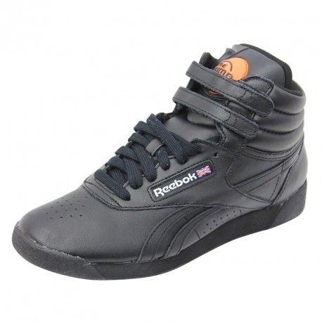 251067d2e28cd Reebok - Freestyle Hi Pump W Nr - Chaussures Femme Noir - pas cher Achat    Vente Baskets homme - RueDuCommerce
