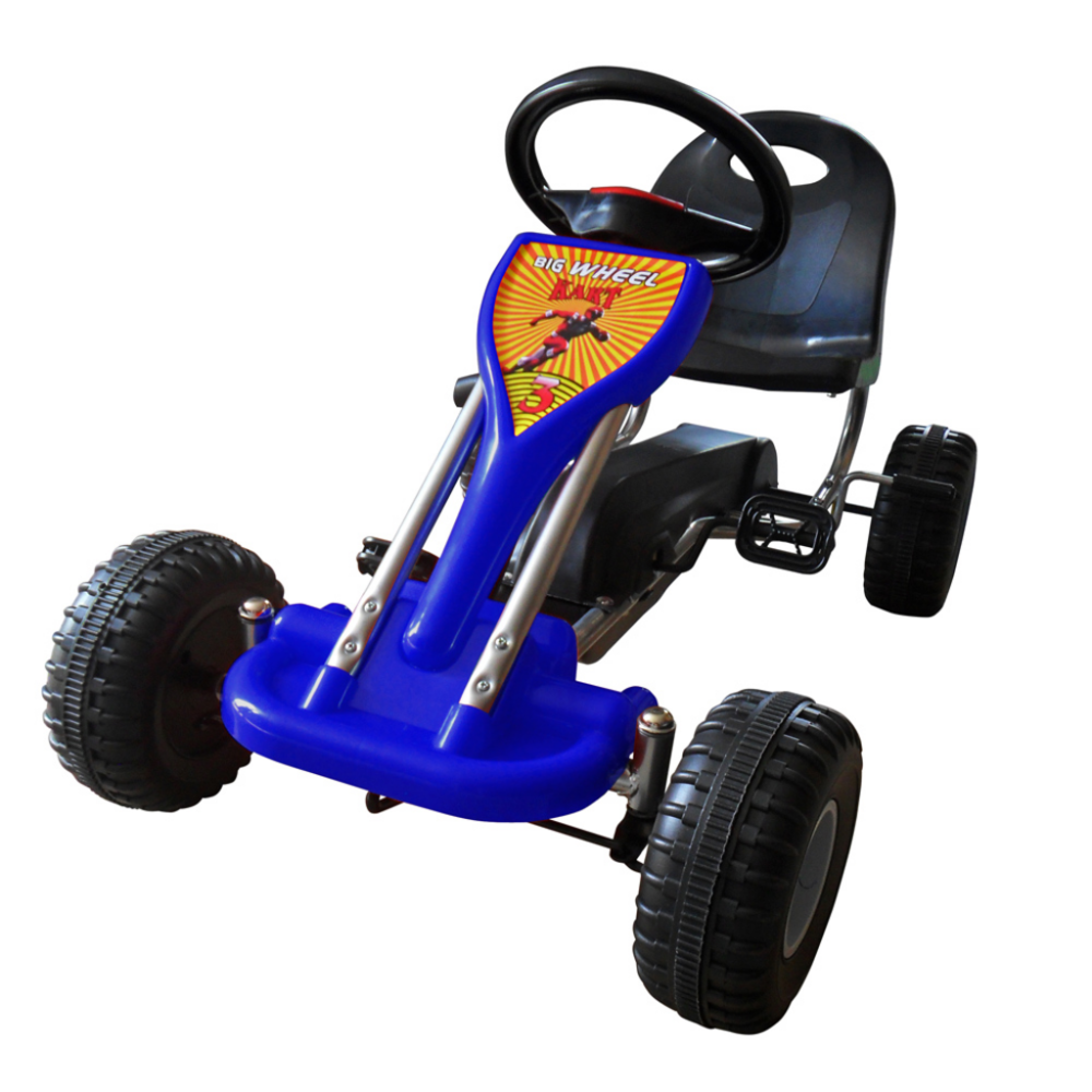 Rocambolesk - Superbe Kart à pédales Bleu 1 place neuf