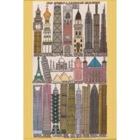 Pomegranate - Gregory Blackstock - The World Landmark Buildings: 500 Piece Puzzle