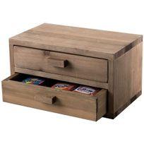 Compactor - Mini-commode en bois « Vintage