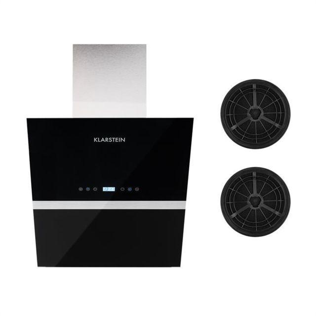 klarstein aurea vii hotte aspirante 60cm 2 filtres. Black Bedroom Furniture Sets. Home Design Ideas