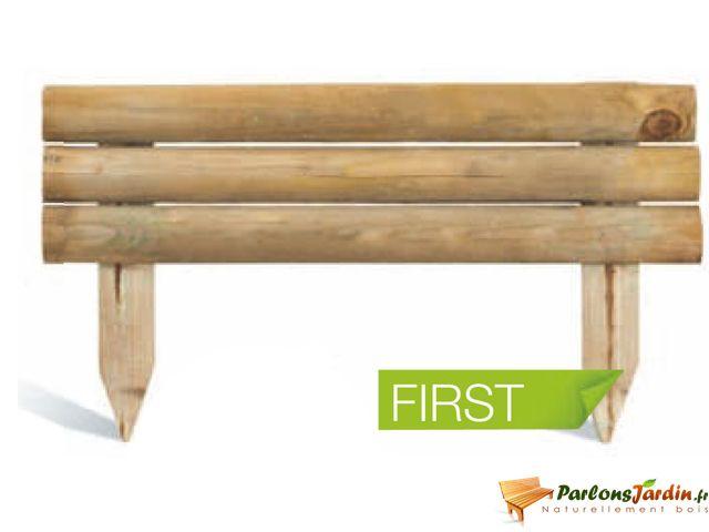 Jardipolys - Bordure de jardin en bois à planter First - pas cher ...