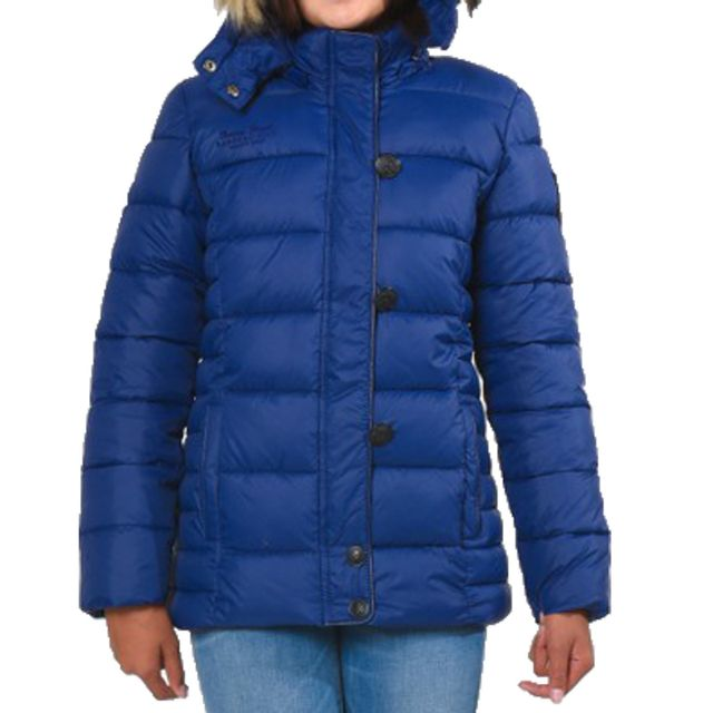 mieux aimé f9048 c114e Doudoune Kaporal Enfant Fille Pinky Old Blue