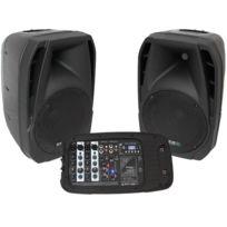 "Ibiza Sound - Combo210 Système de sonorisation portable 10""/25cm"