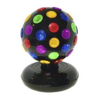 Disco pro - Décoration de Fête - Boule Disco Multicolores 15cm