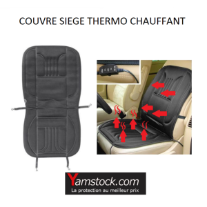carpoint housse couvre sieges thermo chauffant 12v. Black Bedroom Furniture Sets. Home Design Ideas