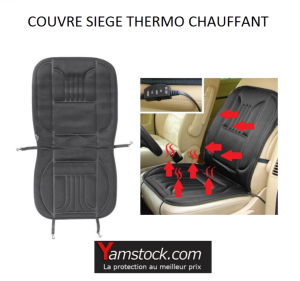 carpoint housse couvre sieges thermo chauffant 12v voiture camping car pas cher achat. Black Bedroom Furniture Sets. Home Design Ideas