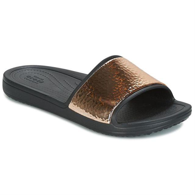 Femme Pas Met Hammered Slide Sloane Crocs DIEH92
