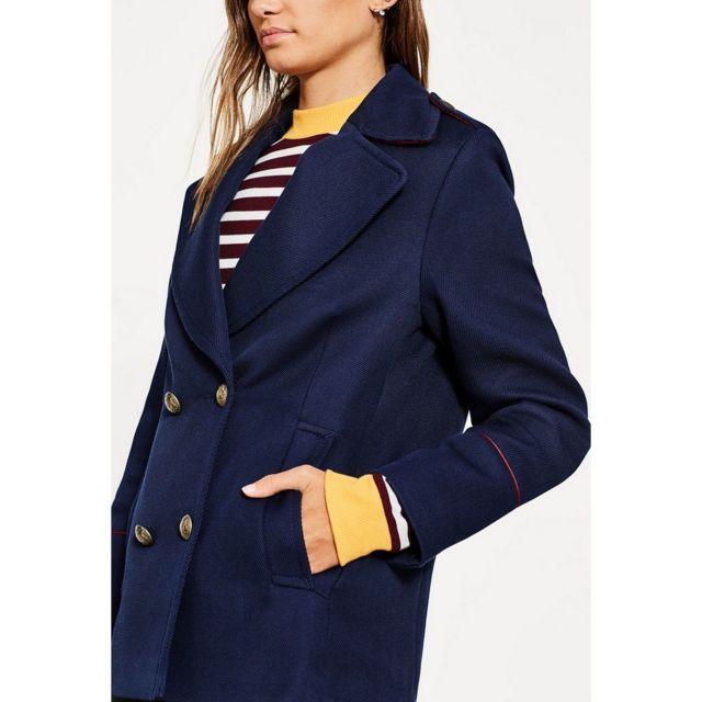 fbe5af4eb2e2 Esprit - Jackets outdoor woven Caban Jkt - pas cher Achat   Vente Blouson  femme - RueDuCommerce