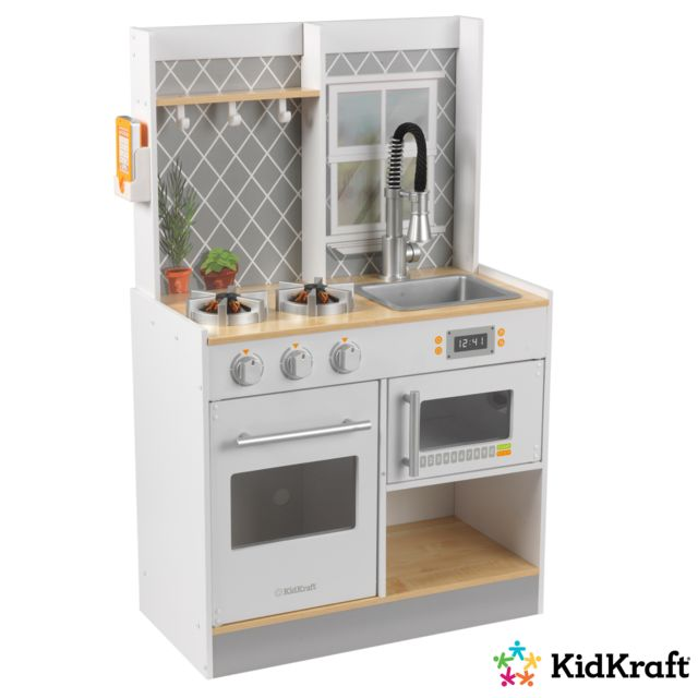 KIDKRAFT Cuisine enfant en bois Let's cook - 53395