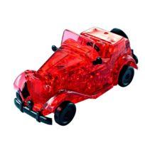 Hcm Kinzel - Puzzle 3D : 53 pièces : Voiture Oldtimer rouge