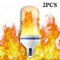 Flamme Pour Ampoule Effet Scintillement Lumière Lampe Ld1471 Led E27 Perles 2835 5w Simulé La 2pcs Décorative DécorationMaisonBar Base hrsdxtCBQ