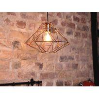 Beliani - Lampe - Lampe de plafond - Métal - Cuivre - Guam