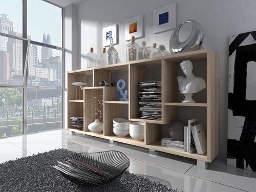 comfort home innovation tag re biblioth que design salon salle manger ch ne clair. Black Bedroom Furniture Sets. Home Design Ideas
