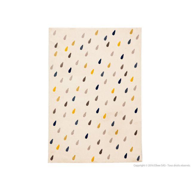 tapis gris jaune. Black Bedroom Furniture Sets. Home Design Ideas