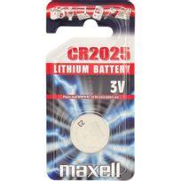 Maxell - Pile bouton lithium 3V Cr2032