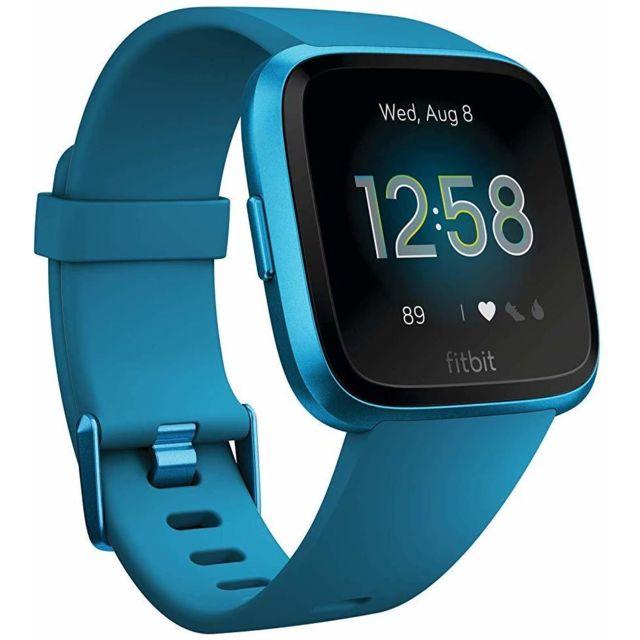 Fitbit Montre intelligente Versa Lite Health & Fitness avec fréquence cardiaque, batterie 4+ jours et résistance à l'eau - Mari